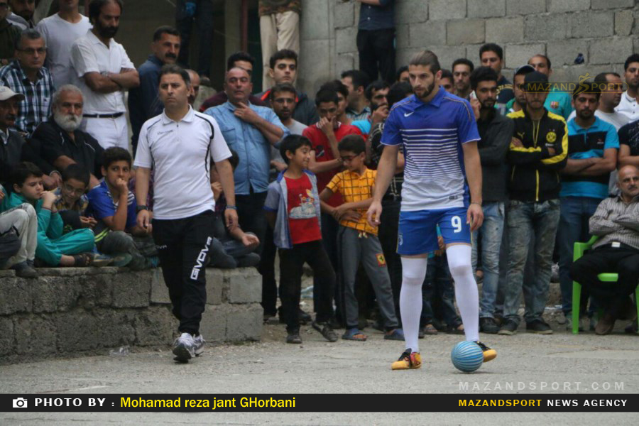 قضاوت محمود نصیرلو در فینال مسابقات فوتبال گل کوچک جنت رودبار رامسر