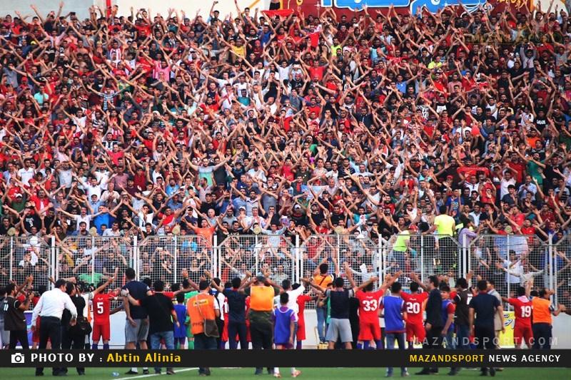 نگاهی متفاوت به دربی مازندرانی لیگ دسته یک فوتبال کشور