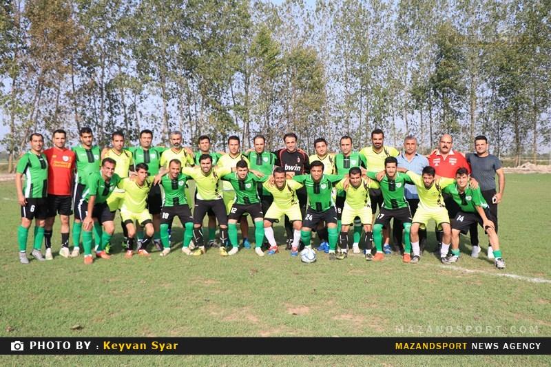 گزارش تصویری دیداری دوستانه منتخب بابل و رسانه ورزش مازندران