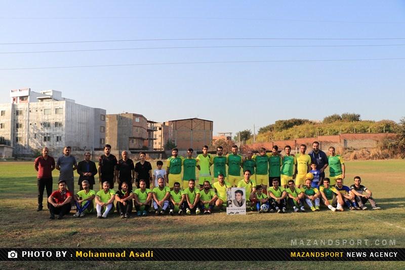 گزارش تصویری دیدار رسانه ورزش مازندران و یاران جابر