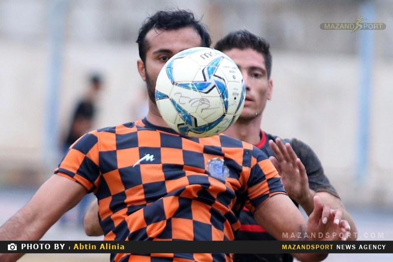 گزارش تصویری دیدار تیم های شهدا ساری و نسل ابومسلم مشهد