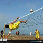 گفتگویی با مدیرتیم های ملی فوتوالی / حمزه پور : رونالدو و  زیدان هم فوتوالی بازی می کنند !