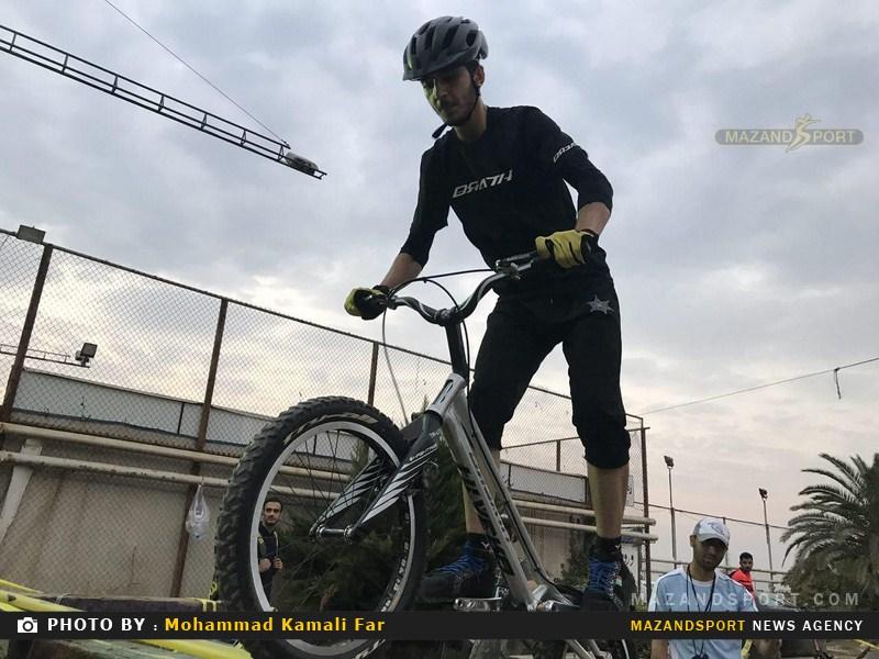 برگزاري اختتاميه ليگ دوچرخهسواري مازندران