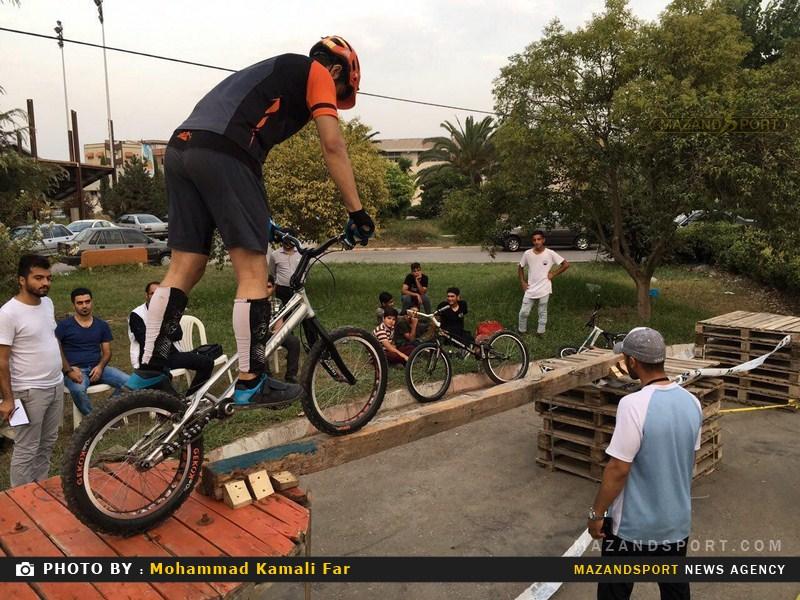 مسابقات جذاب و تماشایی دوچرخه تریال برگزار شد + گزارش تصویری