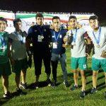 تیم ملی دانش آموزی قهرمان آسیا شد و محمد صابری پور آقای گل !