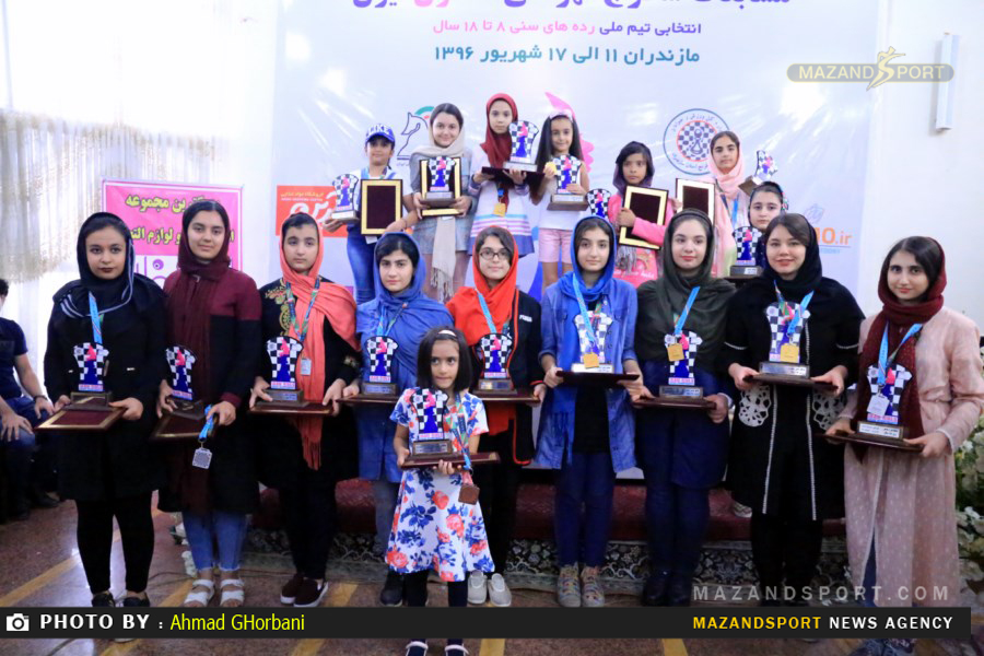 مسابقات شطرنج قهرمانی رده های سنی زیر ۱۸ سال دختران کشور در ساری /عکاس:احمدقربانی