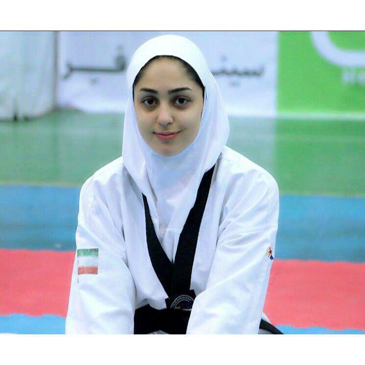 پریسا جوادی در رقابتهای هنرهای رزمی ترکمنستان شرکت میکند