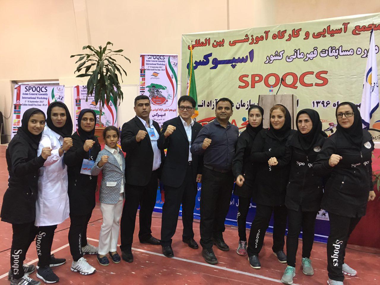 نائب قهرماني مازندران در مسابقات اسپوكس كشور