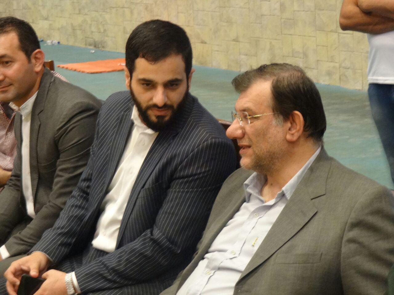 دیدار حسینیان به همراه مرادی رئیس فدراسیون از کادر و اعضای تیم ملی + تصاویر