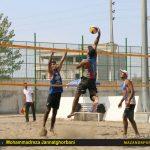 پیروزی اوج رامسر مقابل هتل کانیار گلستان در لیگ برتر والیبال ساحلی