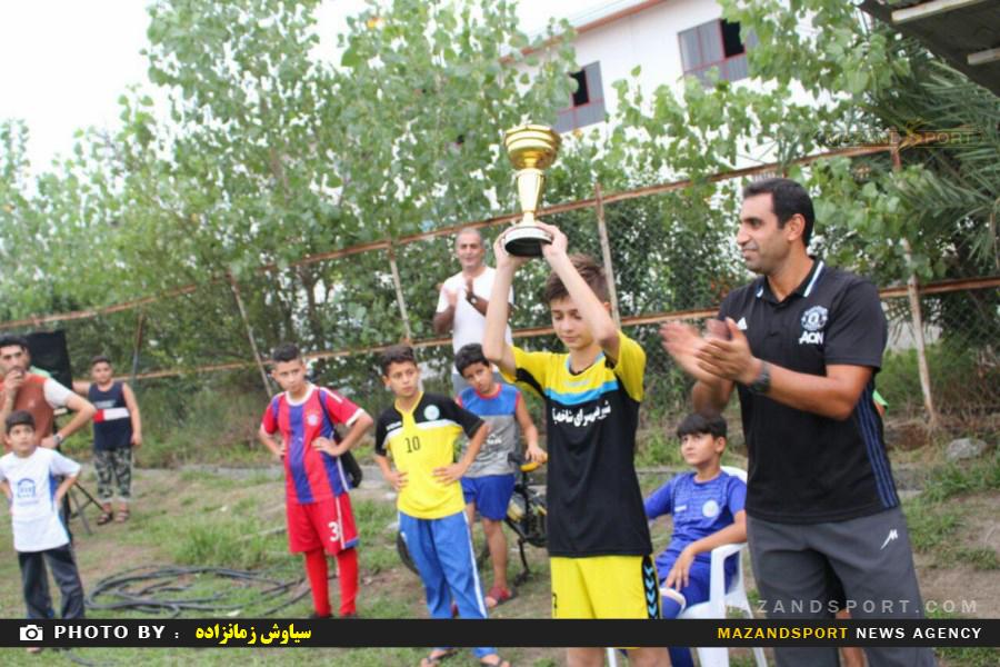 مسابقات چهار جانبه فوتبال دررده نوجوانان به همت باشگاه همیاری سادات شهر