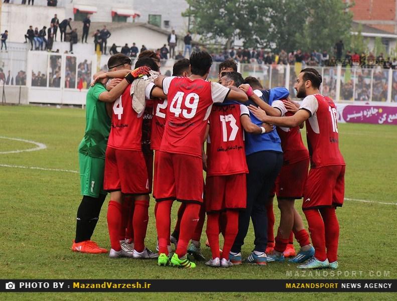 تصاویر دیدار خونه به خونه مازندران و سیاهجامگان مشهد در جام حذفی فوتبال کشور