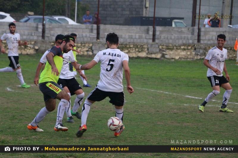 شکست سنگین شهروند رامسر مقابل محمودآباد در لیگ برتر فوتبال استان مازندران