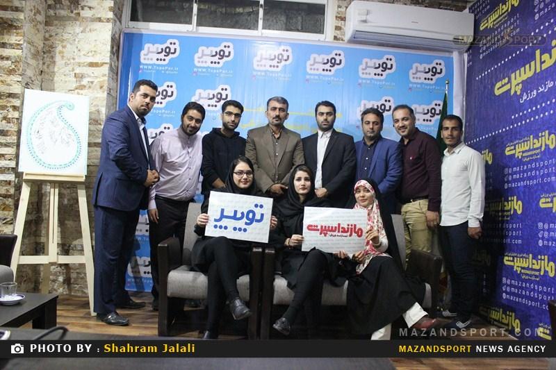 مراسم افتتاحیه دفتر جدید پایگاه خبری مازنداسپرت برگزار شد + گزارش تصویری