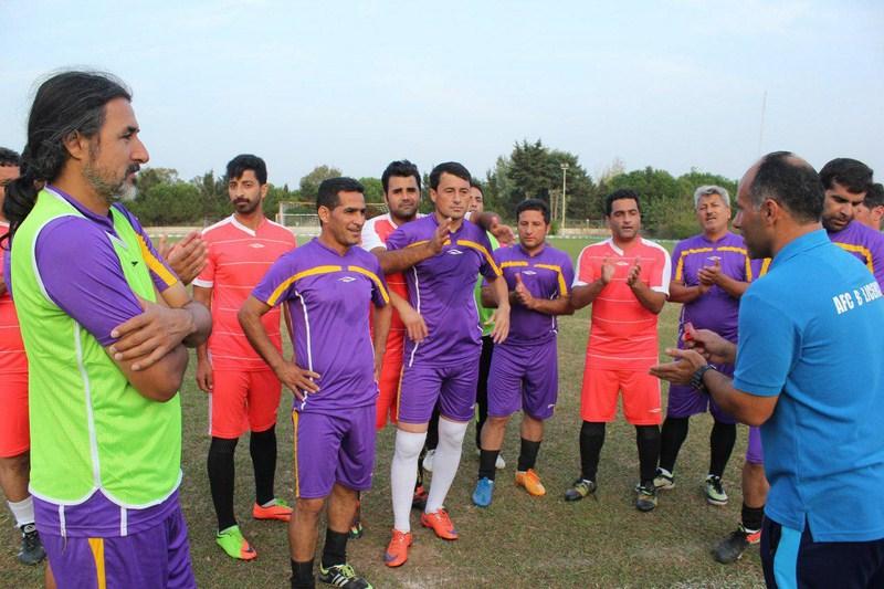 گزارش تصویری برگزاری دوره مربیگری درجه B کنفدراسیون فوتبال آسیا در مازندران