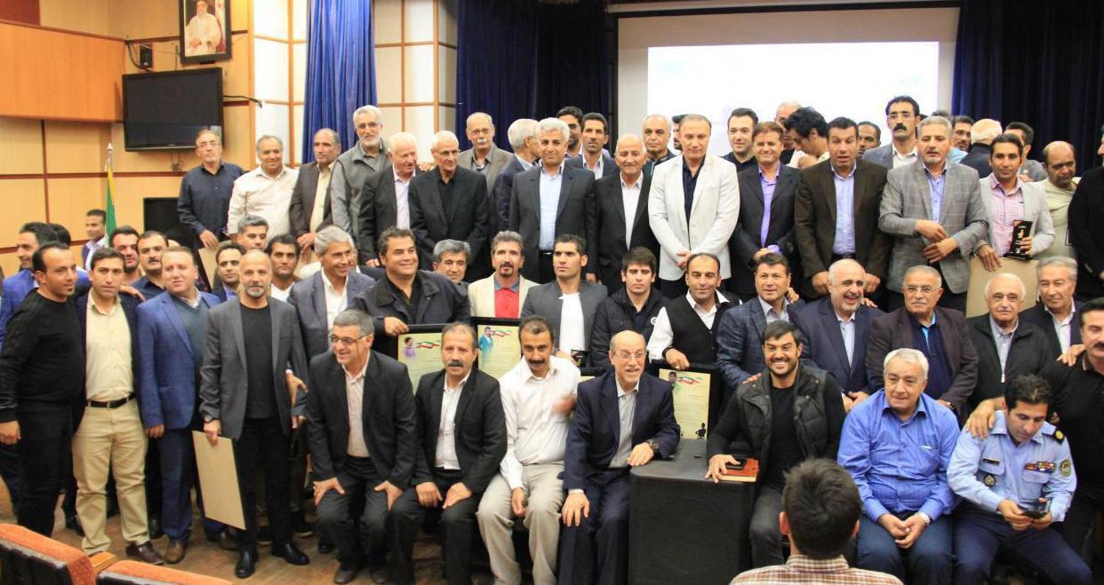 از مربیان برتر استان مازندران توسط کانون مربیان ایران تجلیل شد + عکس