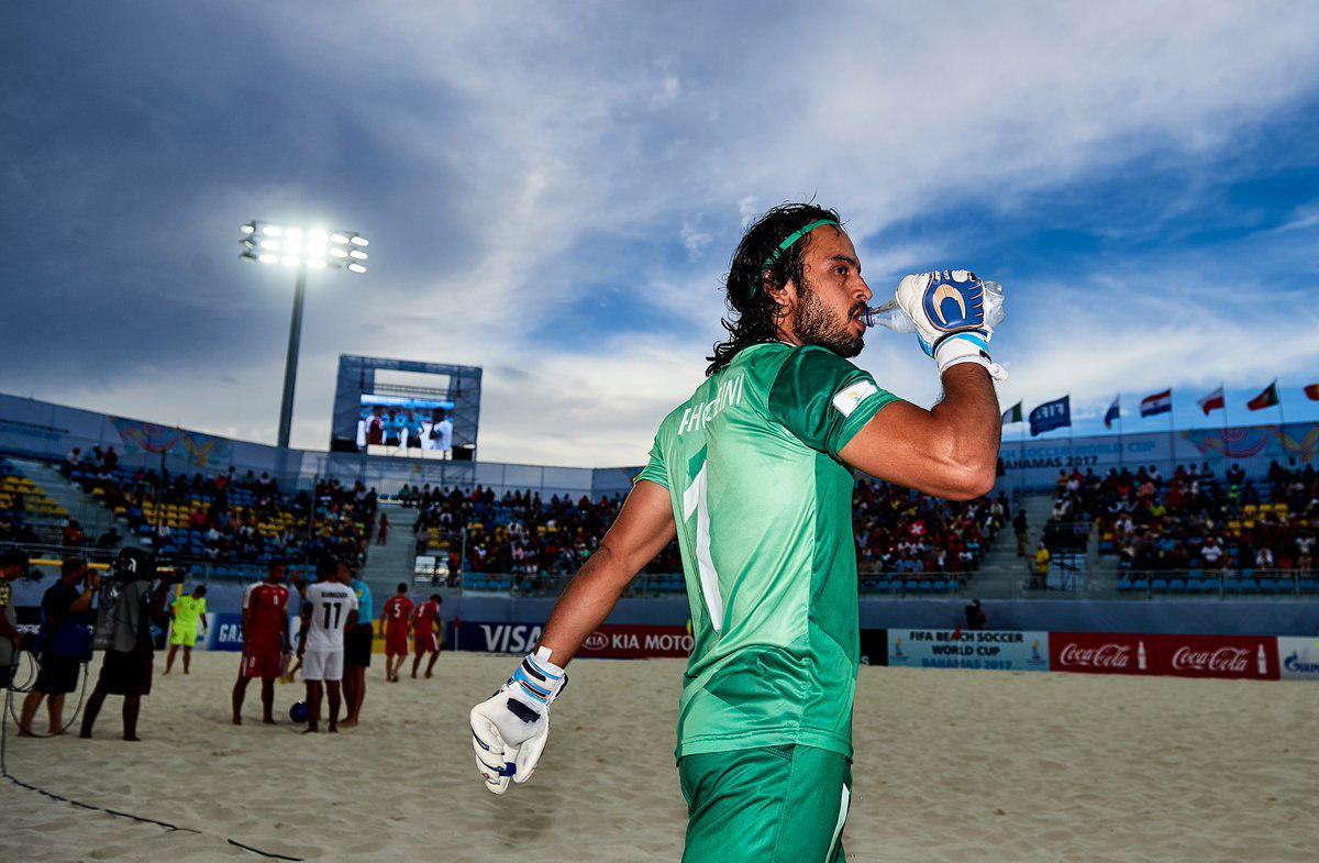 سید پیمان حسینی نامزد برترینهای فوتبال ساحلی جهان شد