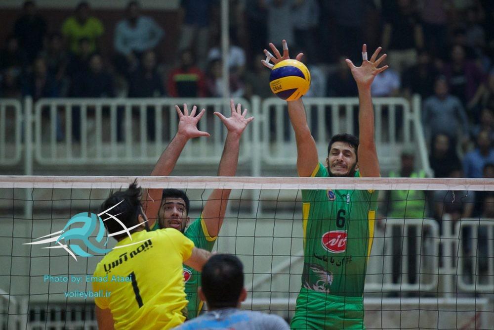 برتری  سارویه ساری مقابل کاله آمل در دربی مازندران  / عکاس : عماد عطائی