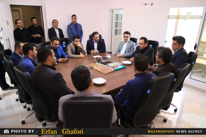 افتتاح دفتر هیئت دوچرخه سواری استان مازندران در ساری
