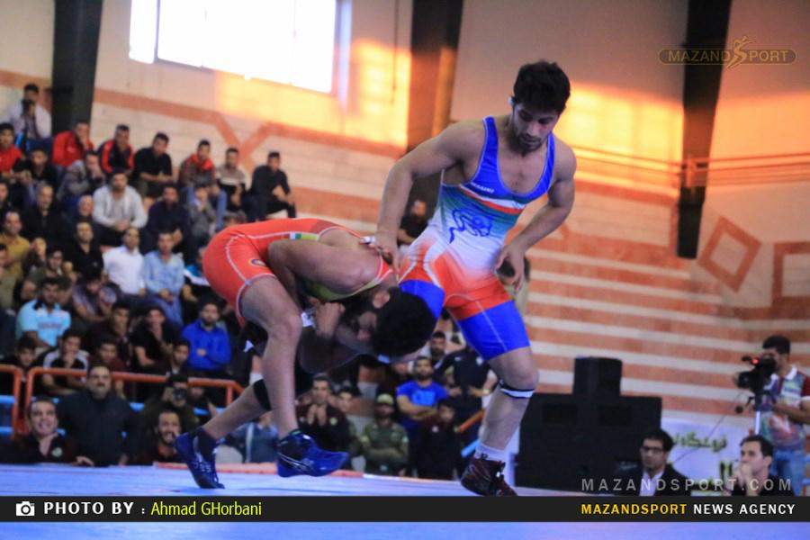 پیروزی تیم ستارگان ساری برابر تیم پاس رستم کلا / عکاس :احمدقربانی