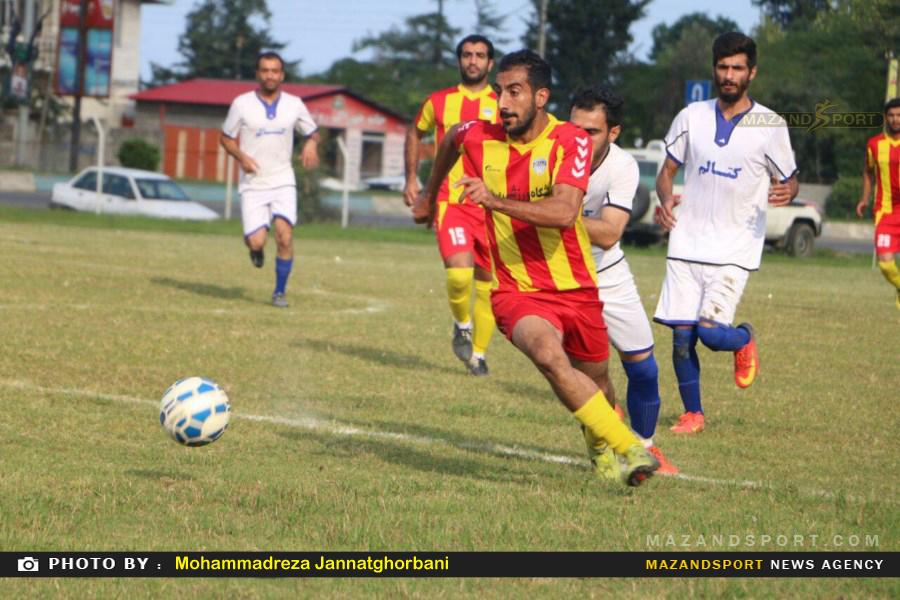 پیروزی شیرین کتالم مقابل دریا بابل در لیگ برتر فوتبال استان مازندران