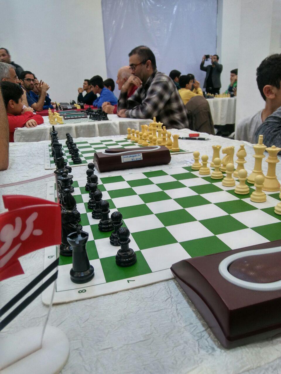 آغاز نخستین دوره مسابقات کشوری شطرنج آزاد جام غذا و سلامت در آمل +گزارش تصویری