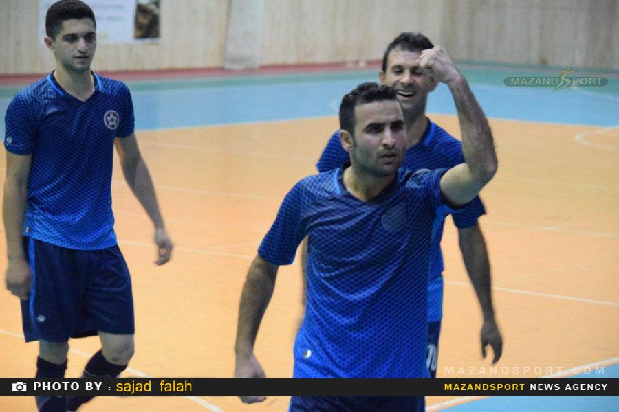 برد پر گل شهدای لمراسک مقابل پیام ۴۱ امیرکلا در لیگ برتر استان
