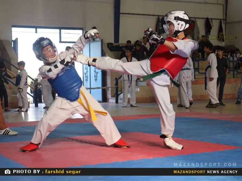 پنجمين دوره مسابقات جام شهداي تکواندوکار شهرستان گلوگاه + تصاویر