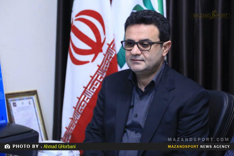 حسینزادگان: تاج میداند که انتقال امتیاز خونهبهخونه از اختیارات اداره ورزش و جوانان مازندران است