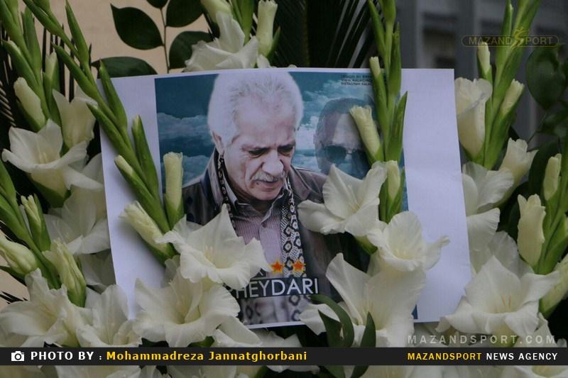 برگزاری مراسم اولین سالگرد درگذشت منصور پورحیدری در کتالم رامسر