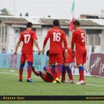 پیروزی ارزشمند شاگردان نکونام با هتریک عباس زاده