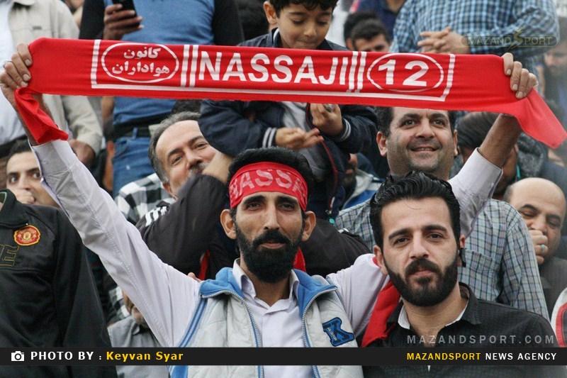 تصاویر دیدار نساجی مازندران و مس رفسنجان در لیگ دسته یک فوتبال کشور