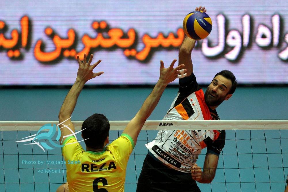 شکست کاله آمل مقابل نارنجی پوشان تهرانی