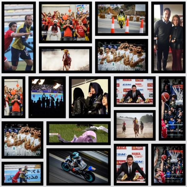 امروز به روایت تصویر /از حضور بانوان در استادیوم تا موتورسواری قهرمانی سرعت کشور !