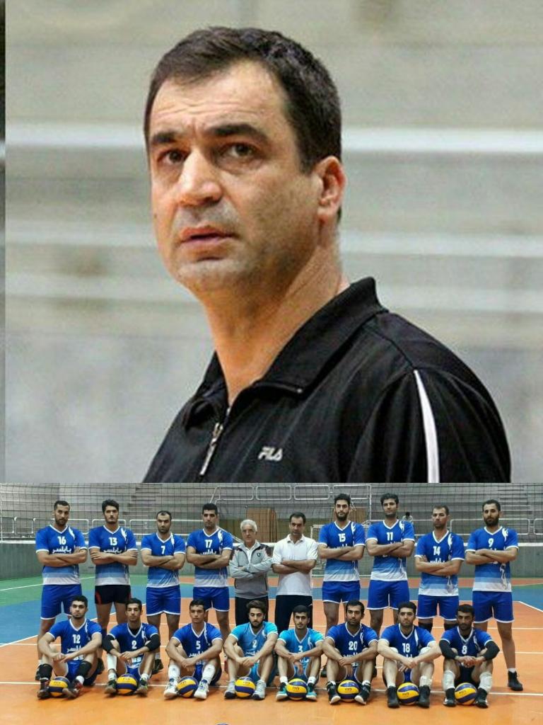 سحاق عباسی:از عملکرد بازیکنانم راضی هستم/تیم کاله بهتر بازی کرد و برنده شد