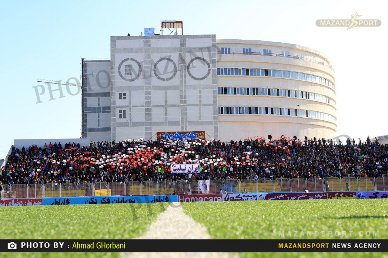 ایمن سازی ورزشگاه شهید وطنی قائمشهر با بودجه یک میلیارد تومانی