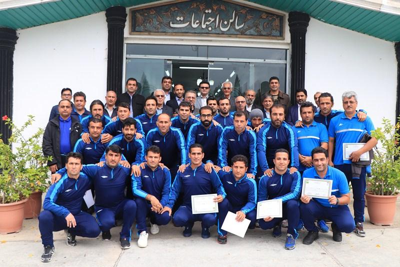 اختتامیه دوره آموزشی مربیگری درجه B کنفدراسیون فوتبال آسیا برگزار شد + تصاویر