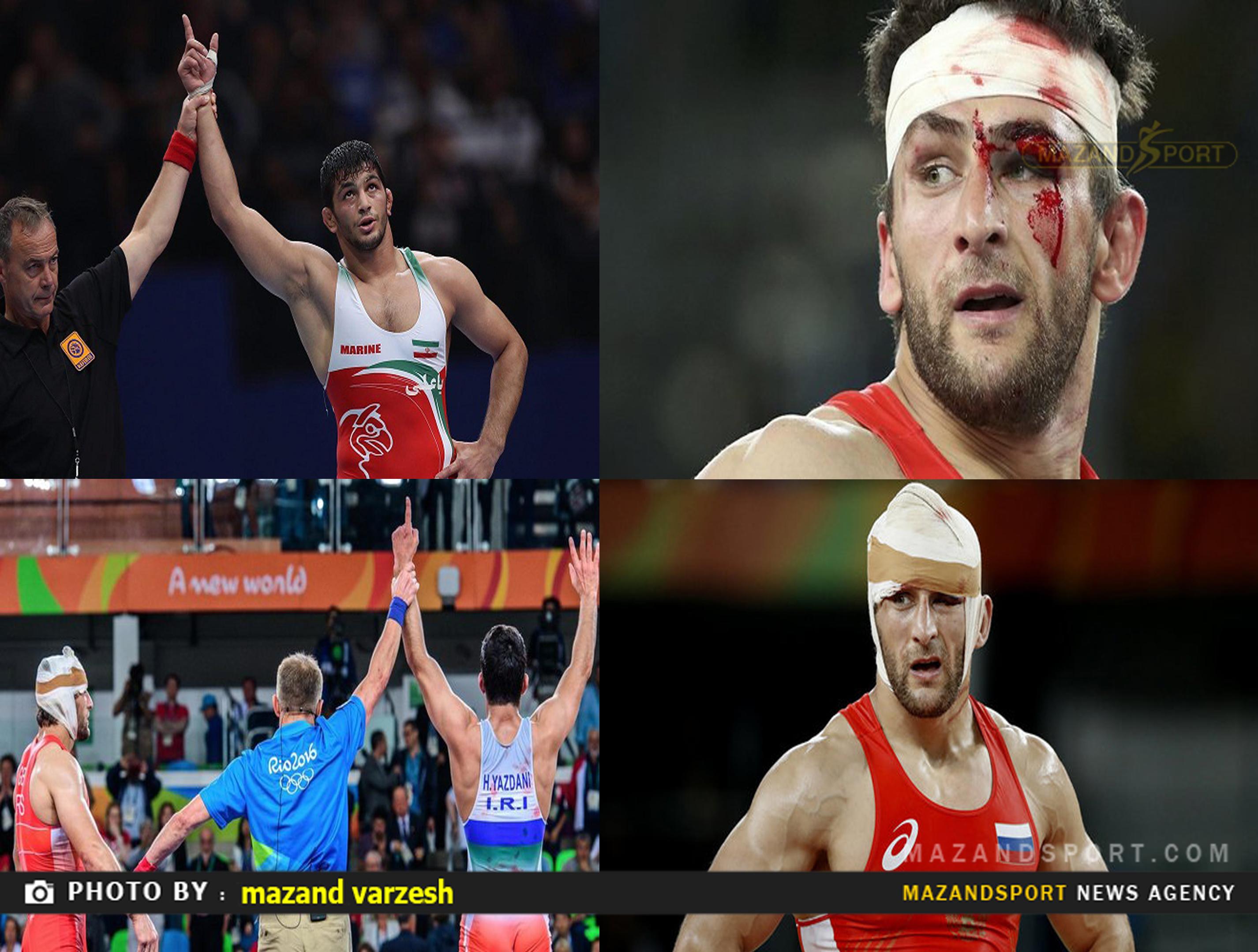 پشت پرده فینال جنجالی یزدانی در المپیک !!!