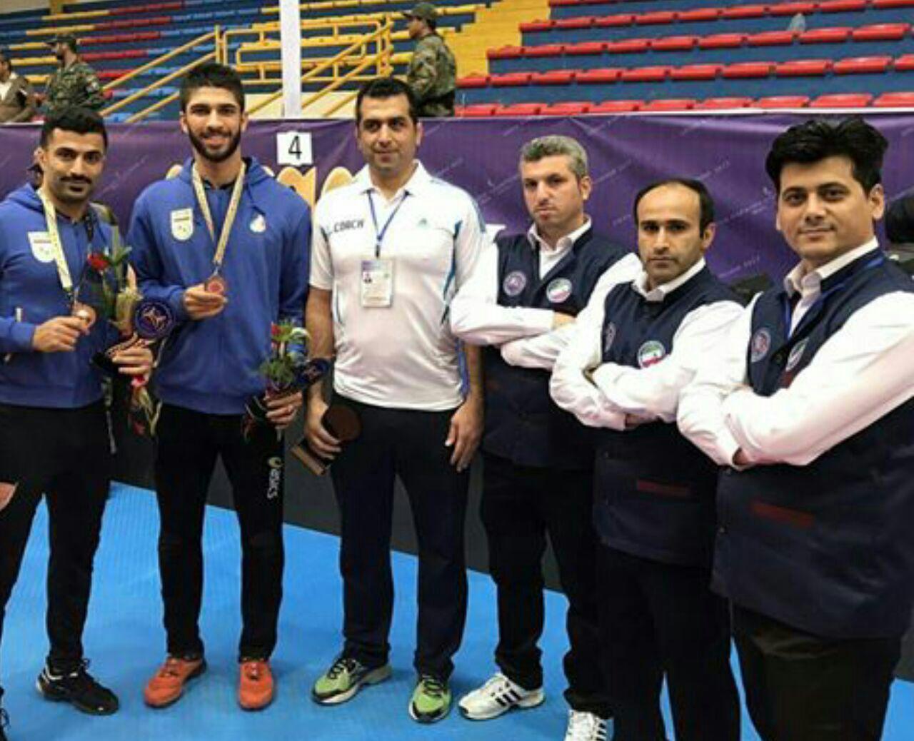تیم ملی کبدی مردان ایران سوم آسیا شدند