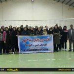 گزارش تصویری برگزاری کلاس داوری درجه ۳ والیبال در رامسر