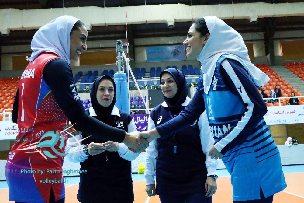 هفته چهارم لیگ برتر بانوان دیدار تیم های پیکان تهران و بهنمیر