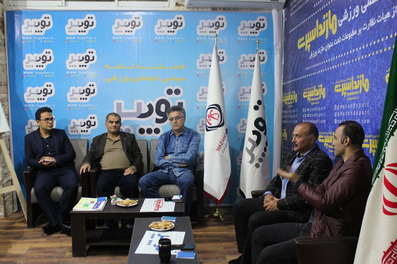 گزارش تصویری برگزاری چالش هفته با حضور کارشناسان فوتبالی