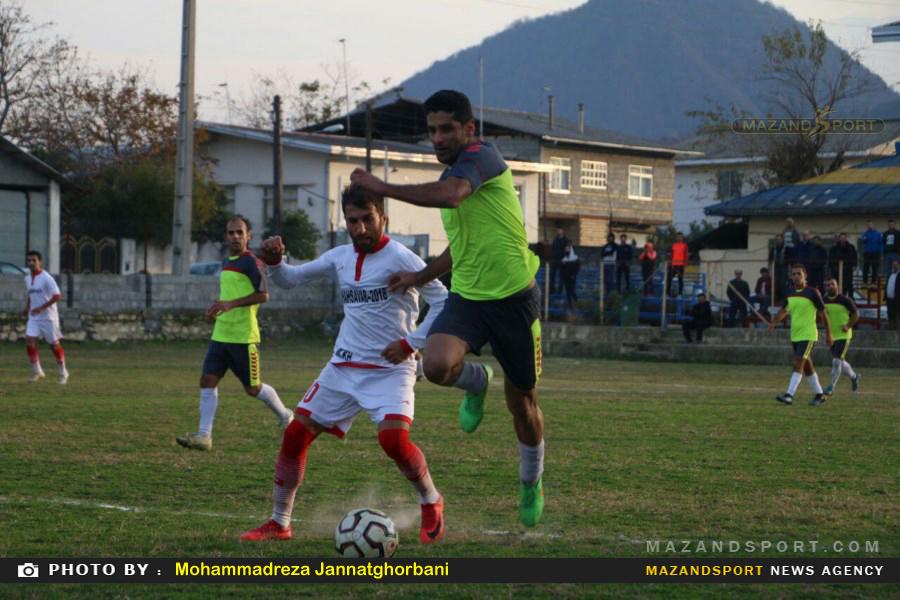 پیروزی شهروند رامسر مقابل ساحل تنکابن در لیگ برتر فوتبال استان مازندران