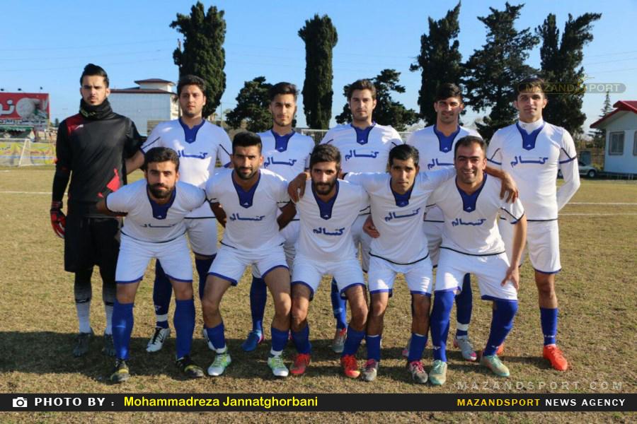 برتری کتالم مقابل شهدای ابوالحسن کلای بابل در هفته هفدهم لیگ برتر فوتبال مازندران