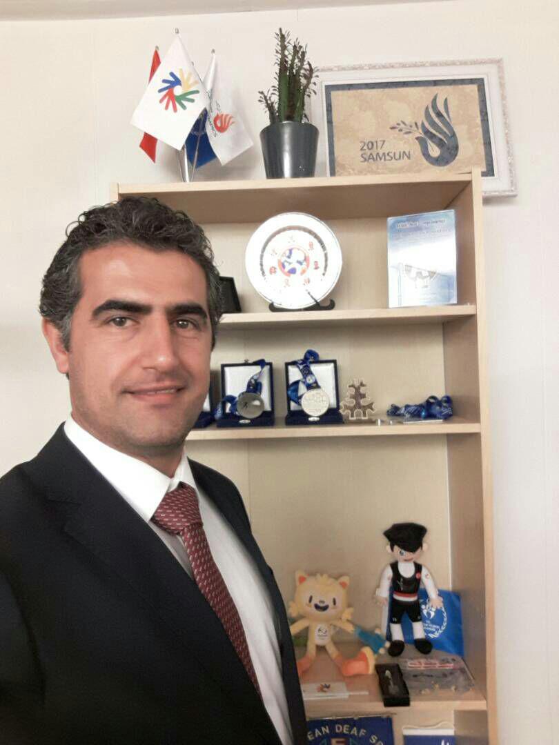 محمد پرگر ، نایب رئیس انجمن بین المللی فوتبال ناشنوایان(DIFA) شد
