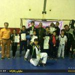 مسابقات چند جانبه تکواندو (کیورگی – پومسه) پسران /عکاس : سیاوش زمانراده
