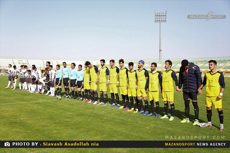 تصاویر دیدار تیم های صبای قم و خونه به خونه مازندران