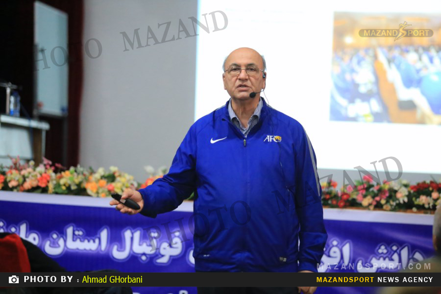 کلاس دانش افزایی مربی گری فوتبال در مازندران برگزار شد /عکاس : احمدقربانی