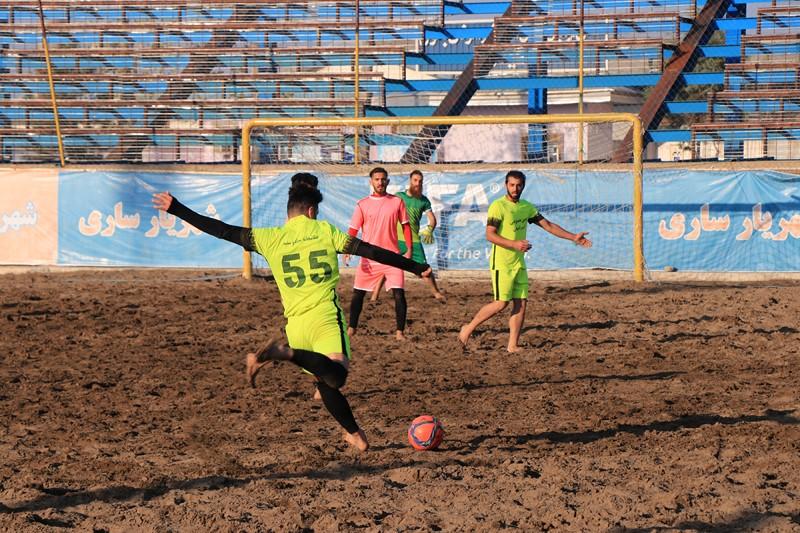 قهرمان کاپ آزاد فوتبال ساحلی مازندران مشخص شد + گزارش تصویری