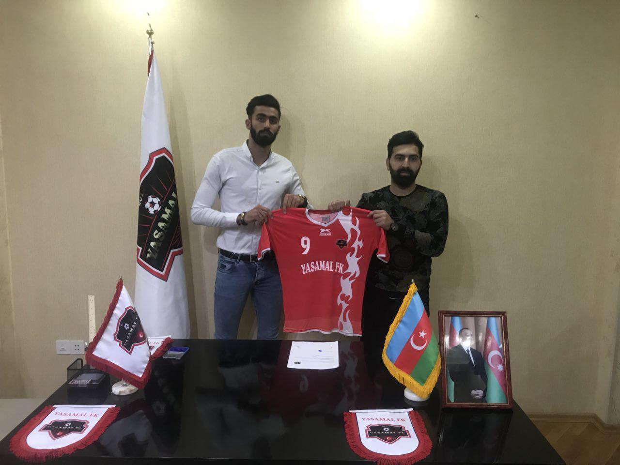 یک فوتبالیست دیگر مازندرانی نیز راهی آذربایجان شد + تصاویر